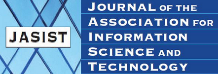 ournal of the Association for Information Science and Technology (JASIST)
